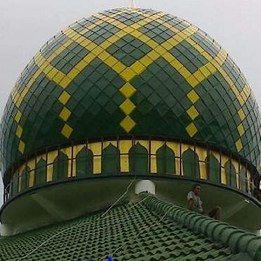 kubah masjid galvalum