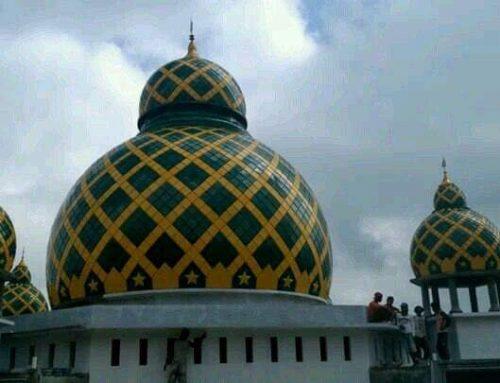 Sejarah Kubah Masjid Enamel yang Perlu Anda Ketahui