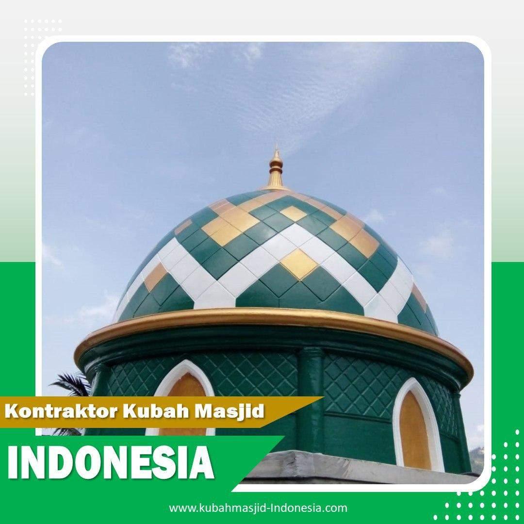 Tempat Jual Kubah Masjid Stainless Steel di Bangka Belitung