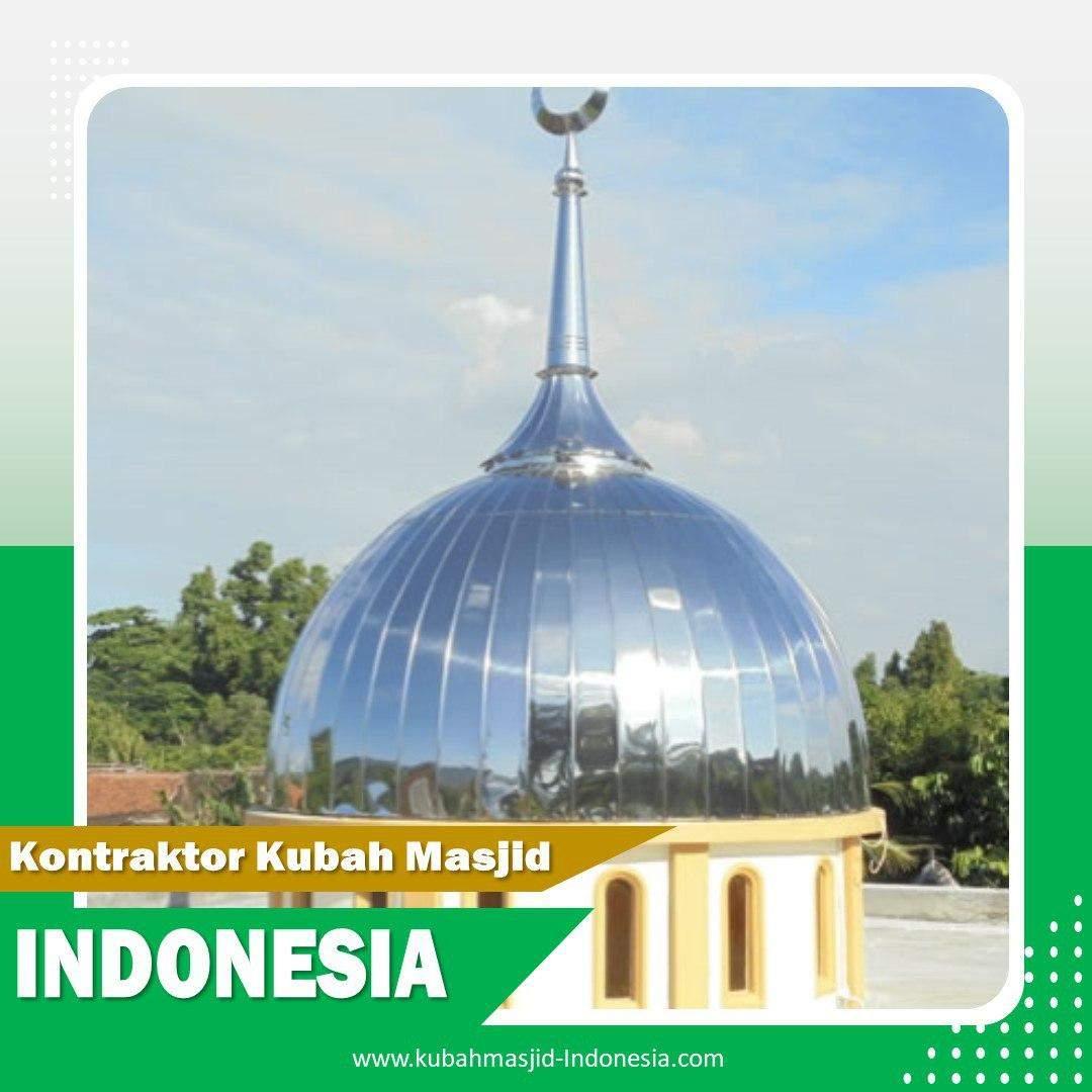 Tempat Jual Kubah Masjid Enamel di Nunukan